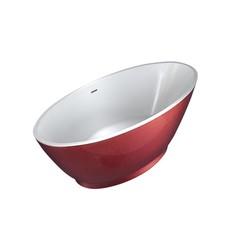 vrijstaand bad Color-Redpool 178x78x61cm