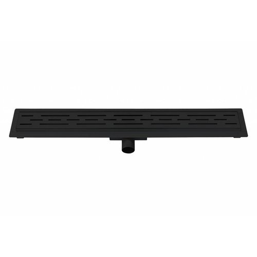 Best Design Black douchegoot met flens 70 cm zwart