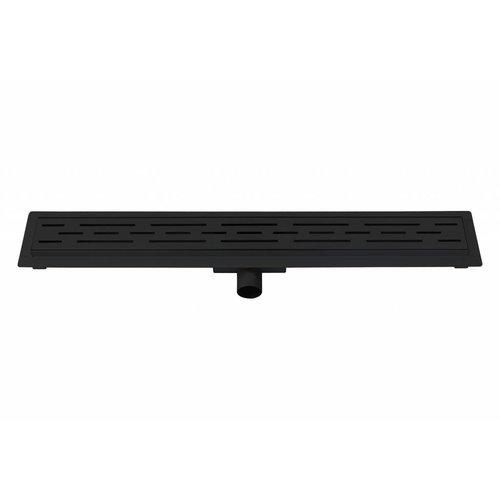 Best Design Black douchegoot met flens 80 cm zwart