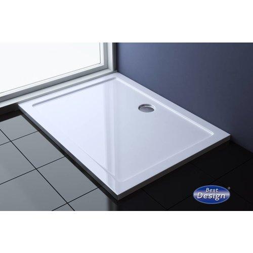 Best Design Dona lage rechthoekige douchebak 140x90x4cm