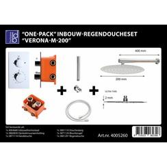 One-pack inbouw-regendoucheset Verona-m-200