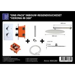 One-pack inbouw-regendoucheset Verona-m-300