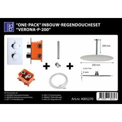 One-pack inbouw-regendoucheset Verona-p-200