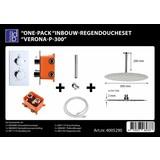 Best Design One-pack inbouw-regendoucheset Verona-p-300