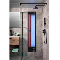 Feel Good Shower UV en  infrarood aluminium zwart