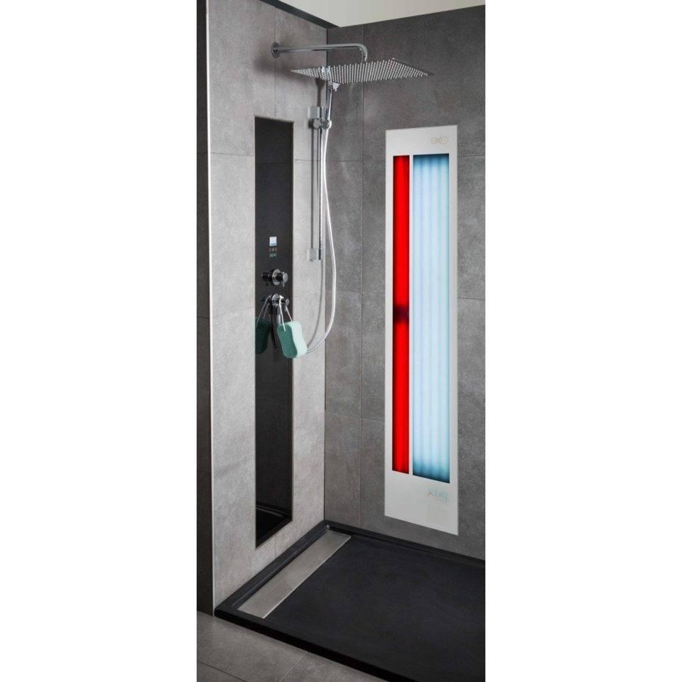 Xenz Feel Good Shower Uv En Infrarood Aluminium Wit