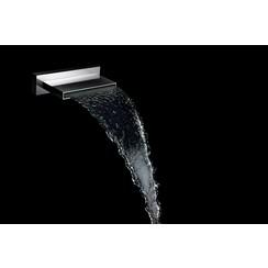 ABS waterval bad-uitloop 200x22 chroom