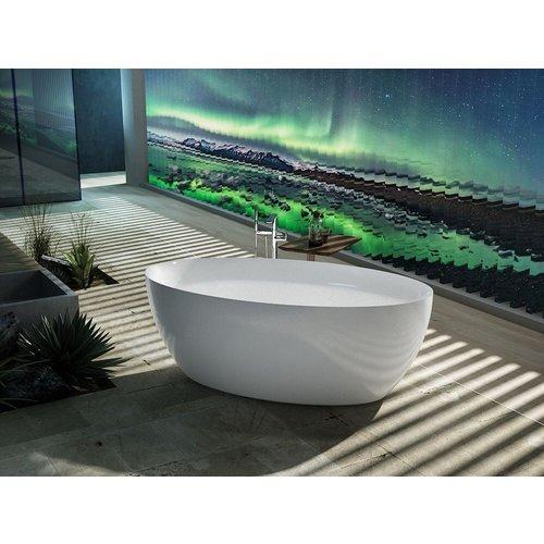Sem Kili vrijstaand bad 160x85x58cm wit