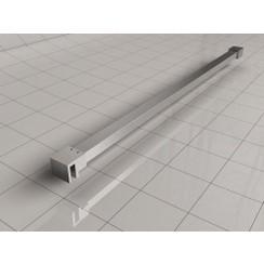Slim stabilisatiestang 120cm geborsteld staal