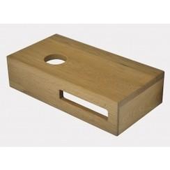 Oak planchet 40 x 21 x 10 cm links