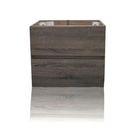 Sem Sem Makalu badmeubelonderkast 60x46cm cottage oak zonder blad