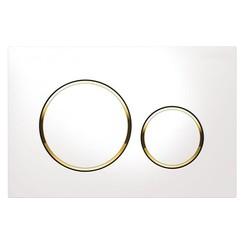 Sigma 20 drukplaat wit/goud