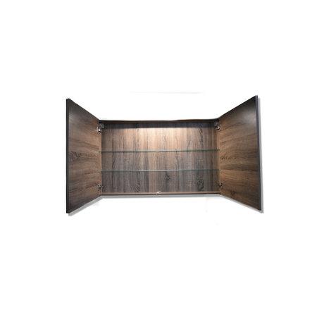 Sem Sem Niagara spiegelkast 120x75x15cm cottage oak