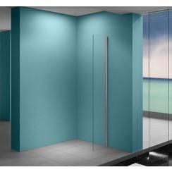 Eco zijwand met muurprofiel 400 x 2000, 8 mm Nano