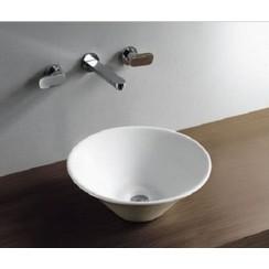 Circle opzetwastafel 420x420x150mm wit