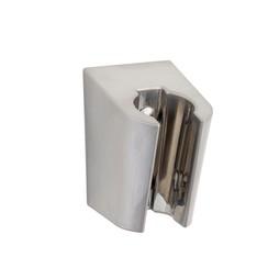 losse handdouchehouder kunststof geborsteld staal