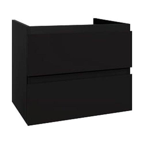 Creavit Sally badmeubelset 60 cm zwart mat