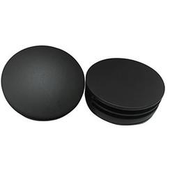 Set knop/plug badoverloopcomb. +vulfunctie rond mat-zwart