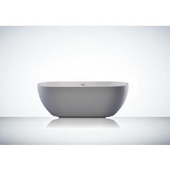 Trinidad acryl vrijstaand bad 160x75x58cm hoogglans wit