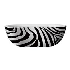 Color-Zebra vrijstaand bad 180x86x60cm