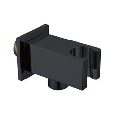 RVS Nero-Stool opsteek muuraansluiting mat-zwart