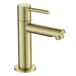 Nancy toiletkraan mat-goud