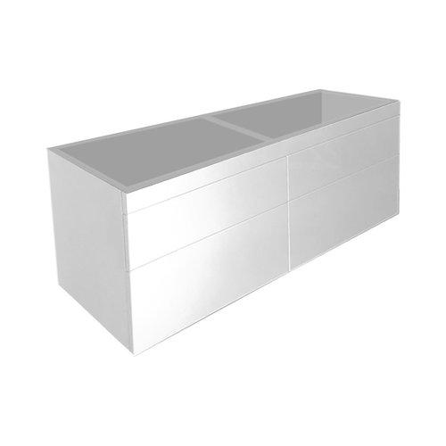 Best Design Beauty-140-Greeploos meubel onderkast 4-laden