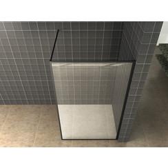 Square inloopdouche 10mm NANO 800x2000 mat-zwart