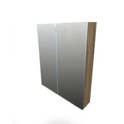 Niagara spiegelkast 80x70x15cm cottage oak