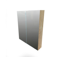 Niagara spiegelkast 80x70x15cm natura