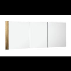 Niagara spiegelkast 150x75x15cm cottage oak