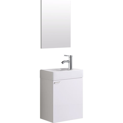 Creavit Aloni 40 wc meubel wit compleet