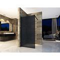 Creavit Aloni inloopdouchewand rookglas 8cm 1000X2000cm