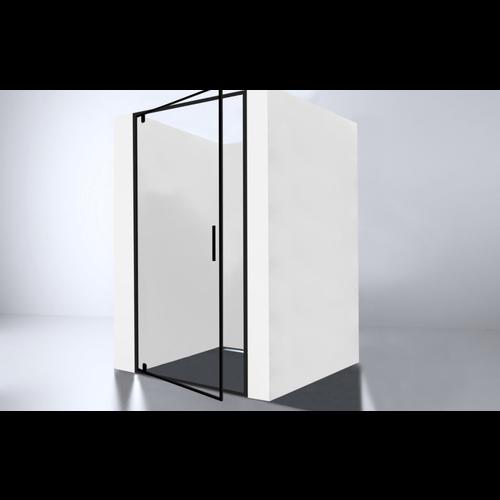 Best Design Baron-100 Nisdeur Zwart 98-100x200 cm Nano Glas 8 mm