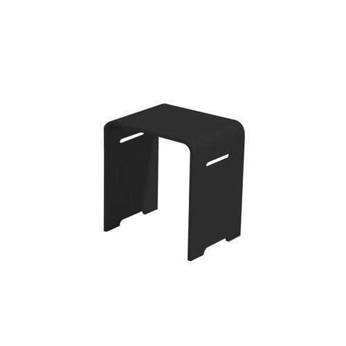 Best Design Beauty-Black stoel Just-Solid zwart