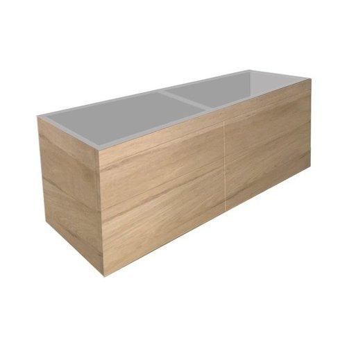 Best Design Beauty-140-Oceanic Greeploos meubel onderkast 4-laden