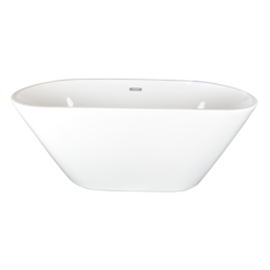 Onega vrijstaand bad 150x70x58cm wit