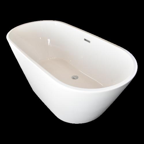 Sem Onega vrijstaand bad 150x70x58cm wit