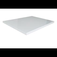 Makalu topblad hoogglans wit 60x46cm