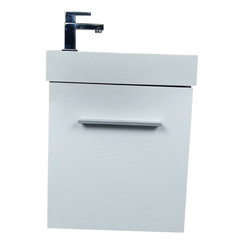 Nimba toiletmeubel 40x22cm wit hoogglans