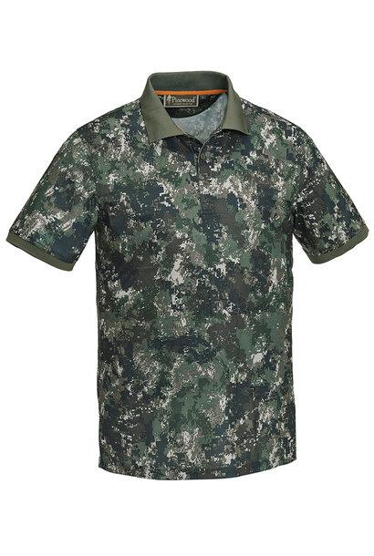 Pinewood Ramsey Polo Shirt Camo Optima 2
