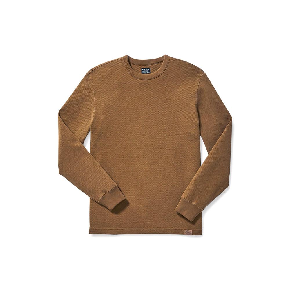 Filson Waffle Knit Thermal Crew Neck Shirt-1