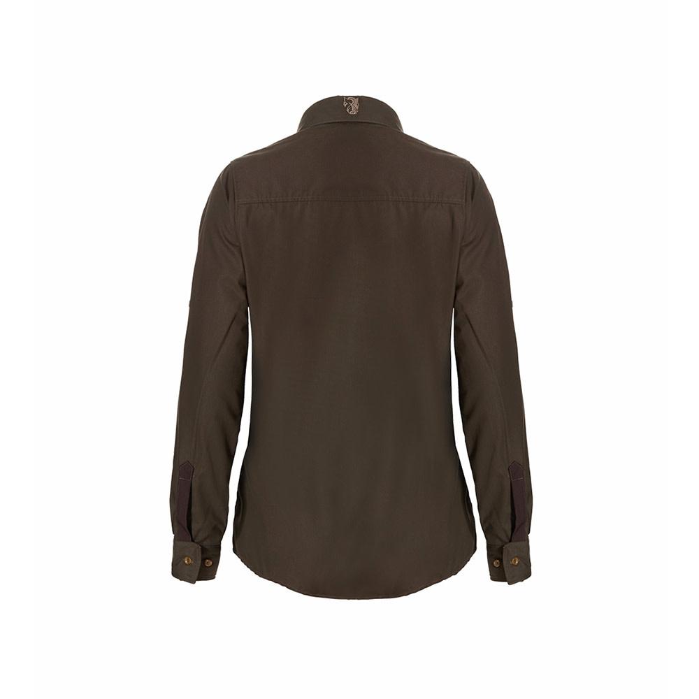 Rovince Dames Overhemd Ergoline Green-2