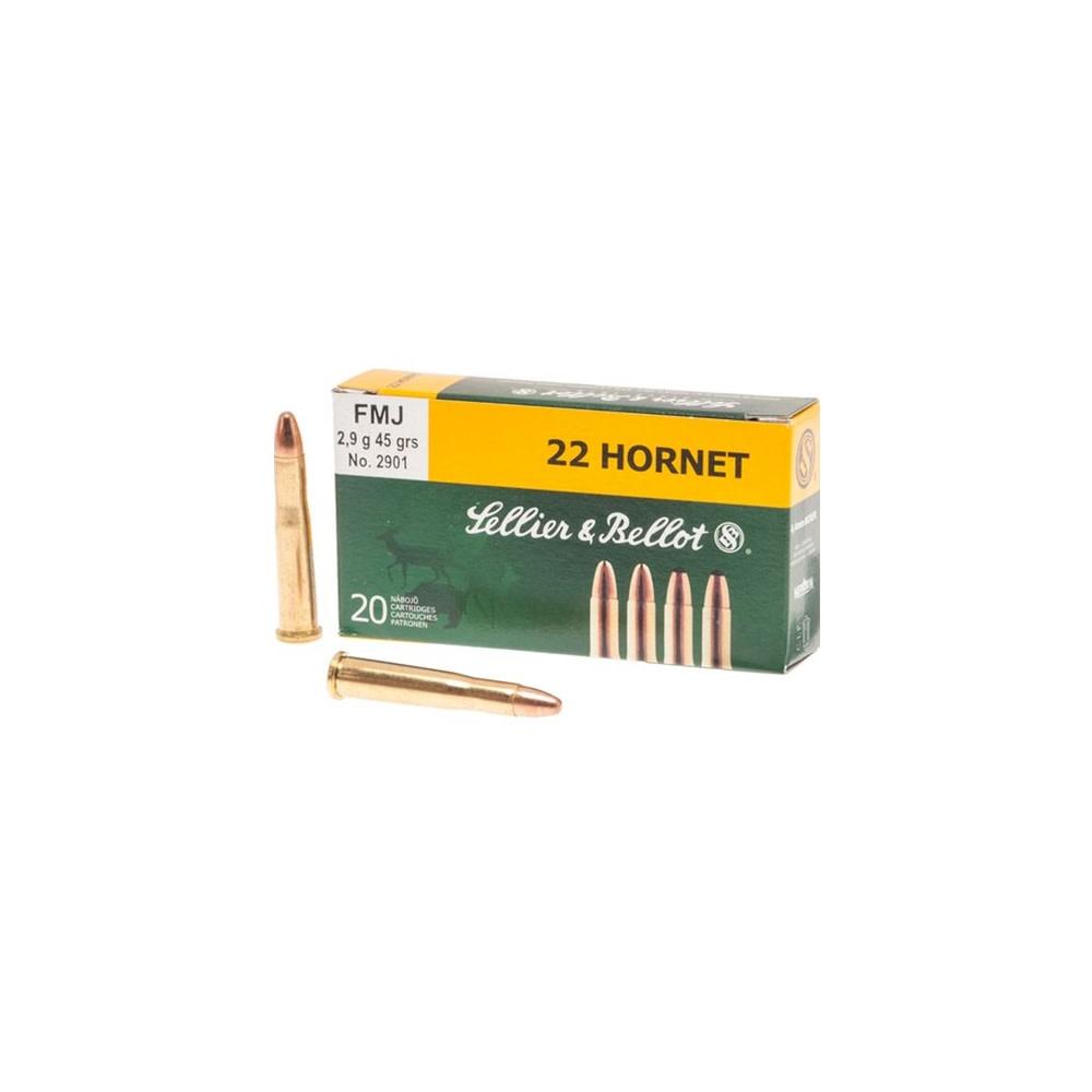 Sellier & Bellot .22 Hornet 2,9 gr.-1