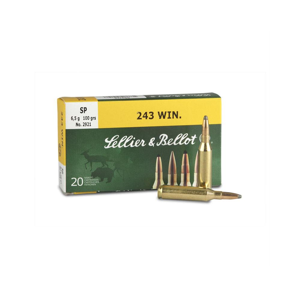 Sellier & Bellot SP .243 Win. 6,5 gr.-1