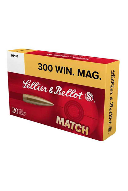 Sellier & Bellot .300 Win. Mag. MATCH 190 grs