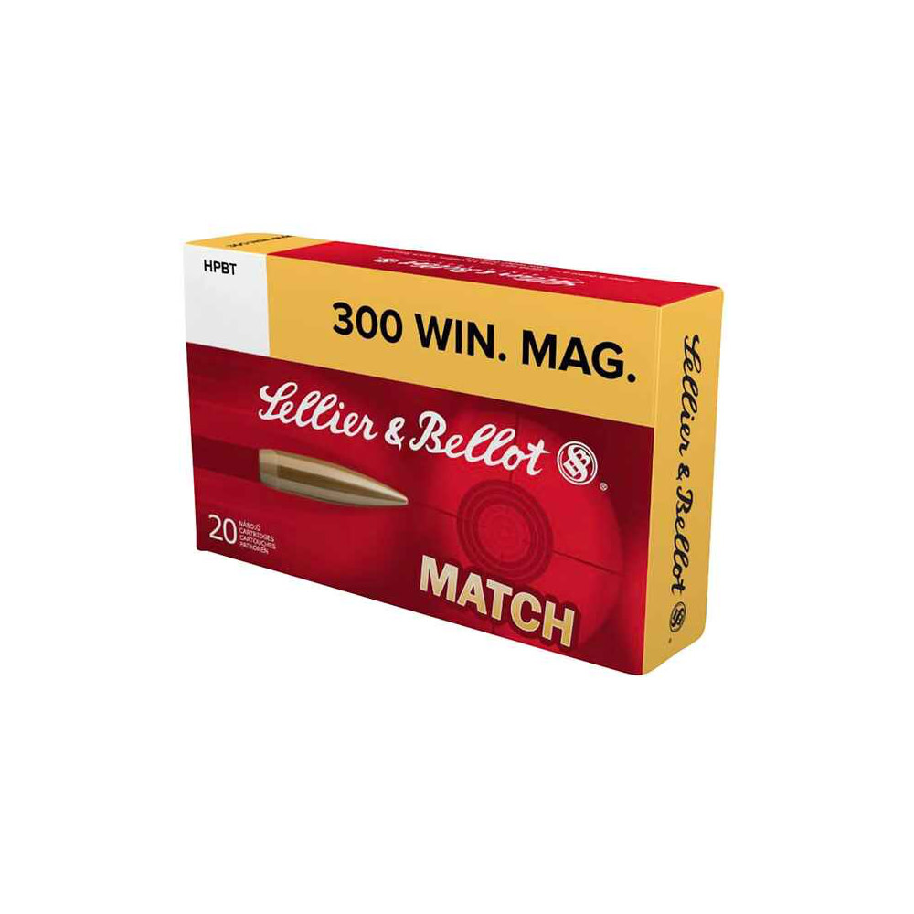Sellier & Bellot .300 Win. Mag. MATCH 190 grs-1