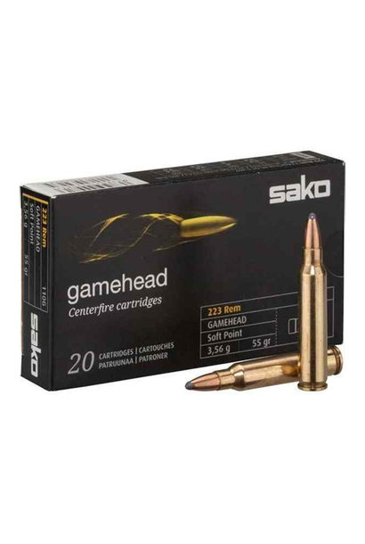 Sako Gamehead Softpoint .223 Rem. 3,56 gr.