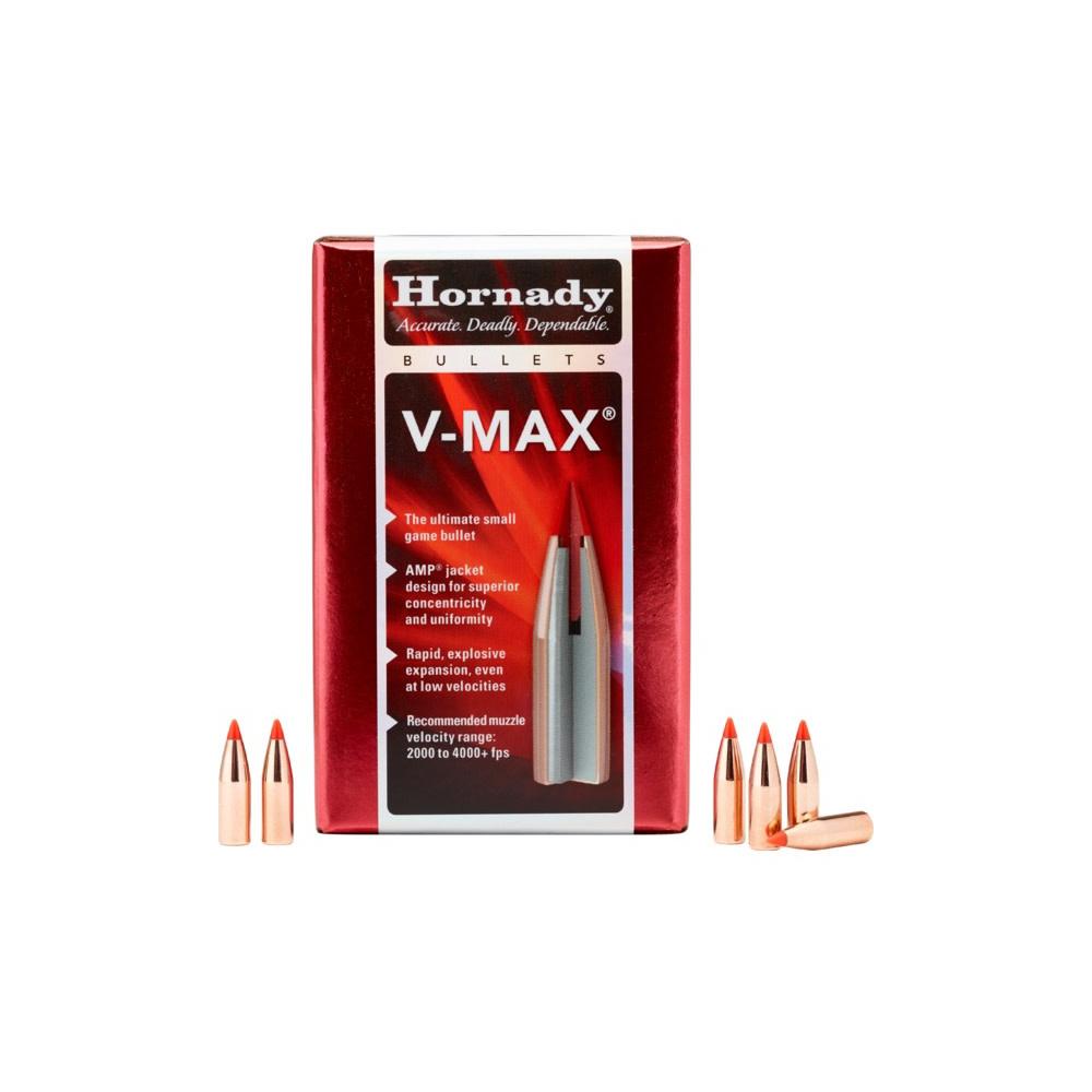 Hornady .224 Valkyrie V-Max 2,59 gr. / 40 grs Kogelkoppen-1