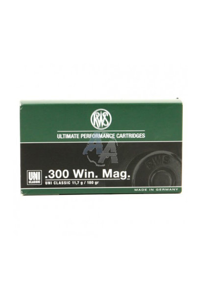 RWS .300 Win. Mag. Uni Classic 11,7 gr.